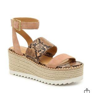 Daylen Espadrille Wedge Sandals